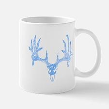 Deer skull blue Mug