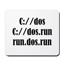 C://dos Shirts Mousepad