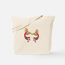 Two Kokopelli #63 Tote Bag