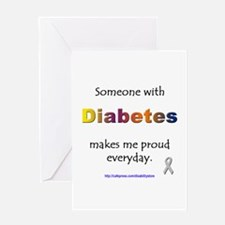 Diabetes Pride Greeting Cards