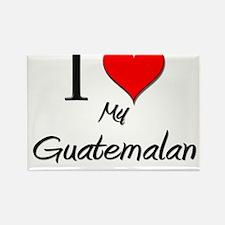 I Love My Guatemalan Rectangle Magnet