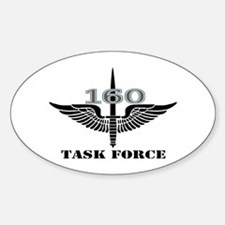Task Force 160 (2) Oval Decal