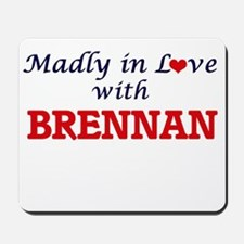 Madly in love with Brennan Mousepad