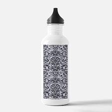 DMS2 BK-WH MARBLE (R) Water Bottle
