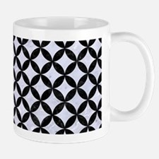 CIR3 BK-WH MARBLE (R) Mug