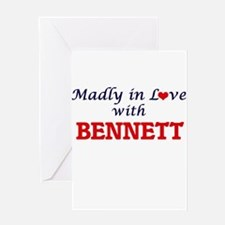 Madly in love with Bennett Greeting Cards