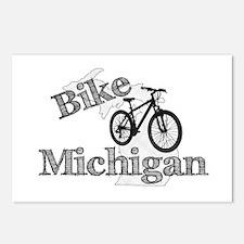 Bike Michigan Postcards (Package of 8)