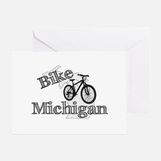 Bike Michigan Greeting Card