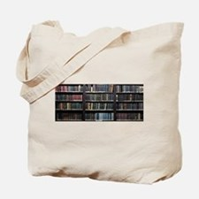 Books on Book Shelf Tote Bag