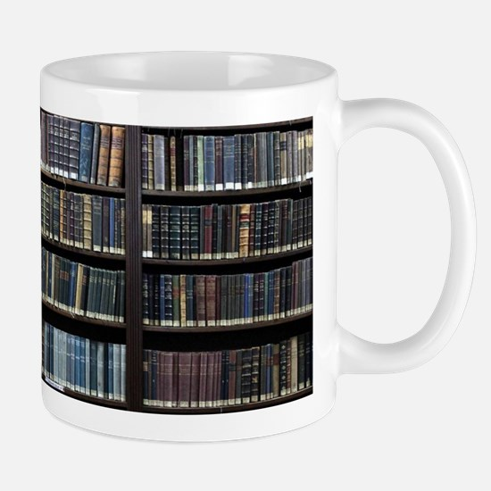 Books on Book Shelf Mugs