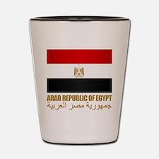 Egyptian Flag Shot Glass