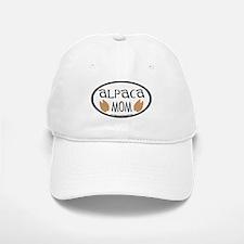 Alpaca Mom Oval Baseball Baseball Cap