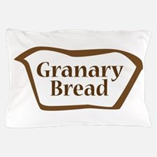 Granary Bread Outline shape Pillow Case