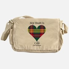 Heart-Gibb.Buchanan Messenger Bag