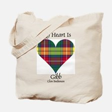 Heart-Gibb.Buchanan Tote Bag