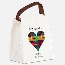 Heart-Gibb.Buchanan Canvas Lunch Bag
