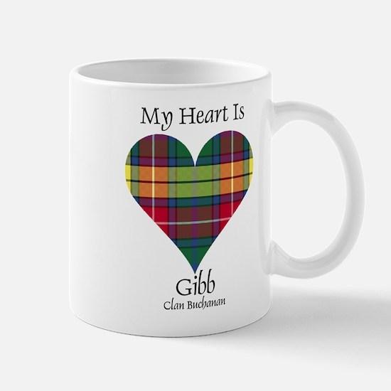 Heart-Gibb.Buchanan Mug