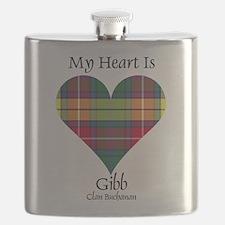 Heart-Gibb.Buchanan Flask