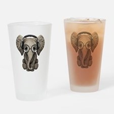Cool Elephant lover Drinking Glass