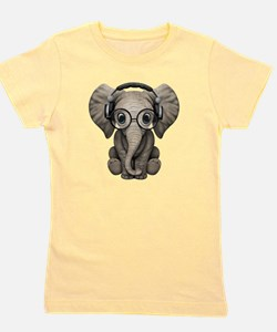 Unique Elephant Girl's Tee