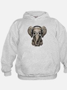 Cool Elephant Hoodie