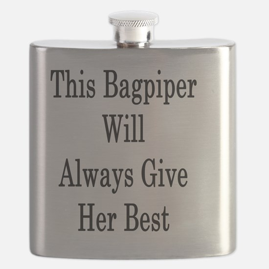 Cool Bagpipe Flask