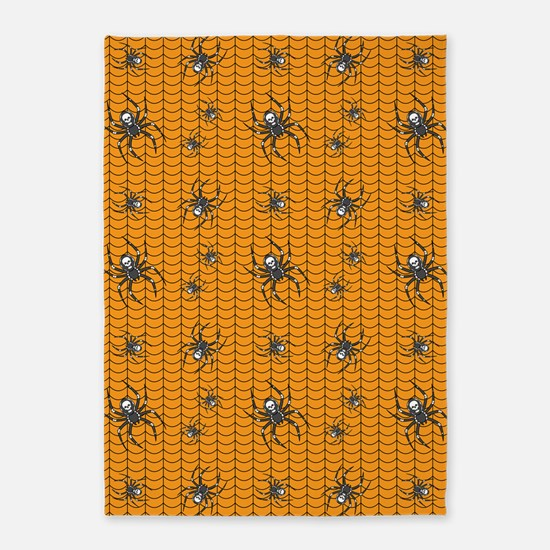 Spiders on Parade 5'x7'Area Rug
