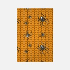 Spiders on Parade Rectangle Magnet