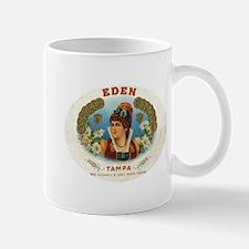 Eden Vintage Cigar Ad Tampa Mug