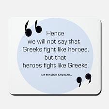 Greek Heroes Mousepad