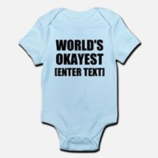 World's Okayest Personalize It! Body Suit