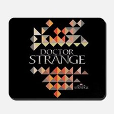 Doctor Strange Logo Triangles Mousepad