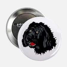 "Portuguese Water Dog 2.25"" Button"