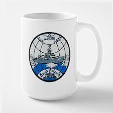 USS GLACIER Mugs
