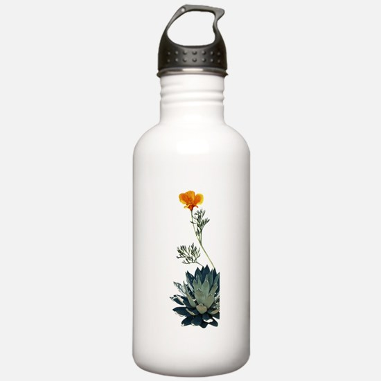 calif.png Water Bottle