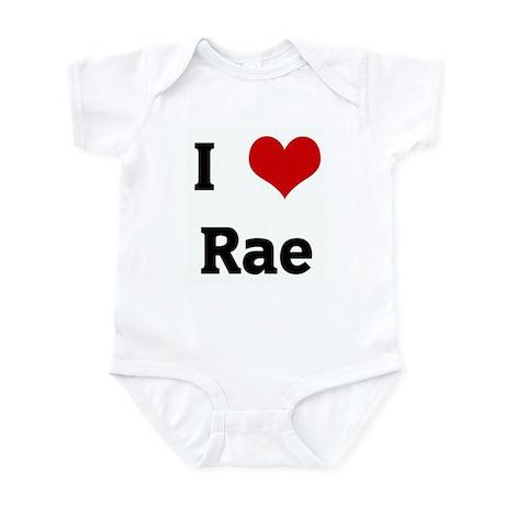 I Love Rae Infant Bodysuit