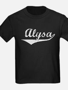 Alysa Vintage (Silver) T