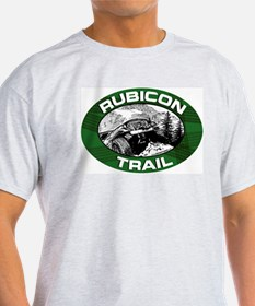 Rubicon Trail Ash Grey T-Shirt