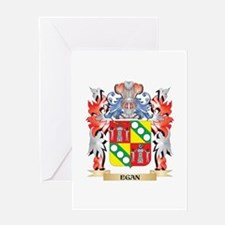 Egan Coat of Arms - Family Crest Greeting Cards