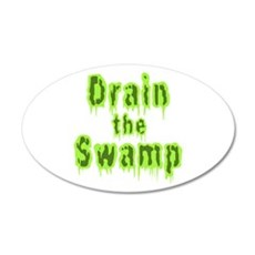 Drain The Swamp Wall Decal