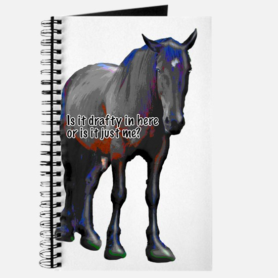 Funny Horse mad Journal