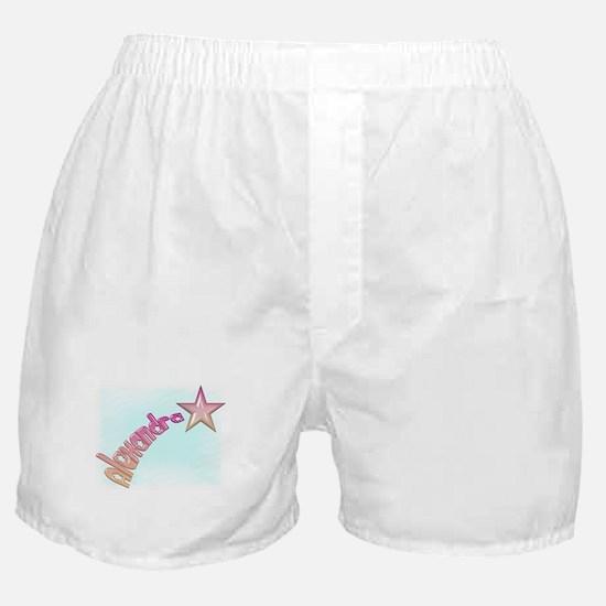 Alexandra Shooting Star Boxer Shorts