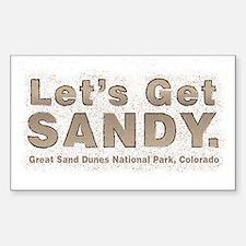 Great Sand Dunes National Park, Colorado Decal