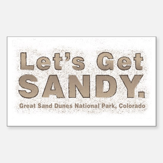 Great Sand Dunes National Park, Colorado Decal