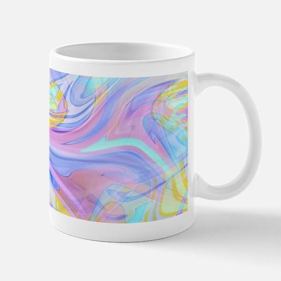 pastel hologram Mugs