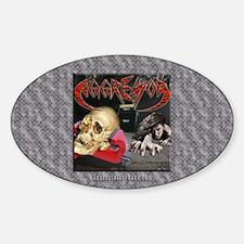 Skull Crusher Sticker (Oval)