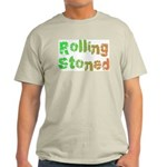 Rolling Stoned Ash Grey T-Shirt