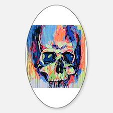 Cute Fluorescent Sticker (Oval)
