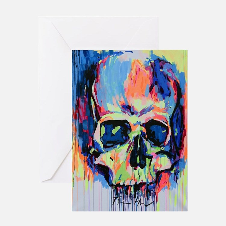 Cute Fluorescent Greeting Card
