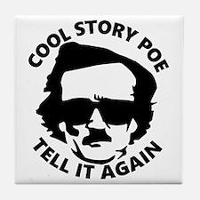 Cool Edgar allan poe Tile Coaster